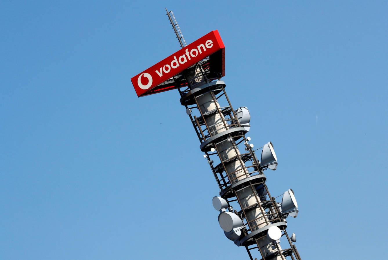 Vodafone logo.  (Reuters)