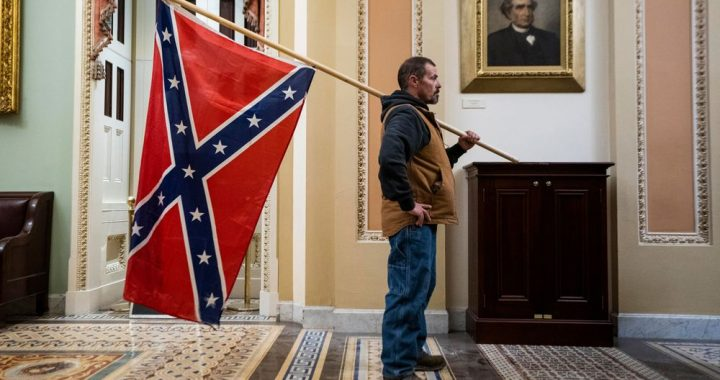 Last Hour in the United States, LIVE |  A man carrying a Confederate flag was arrested during the attack on the Capitol |  United States of America elections