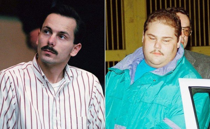 Jeff Gillooly and Shawn Eckhardt, accomplices in the attack on Nancy Kerrigan.  AP Pictures