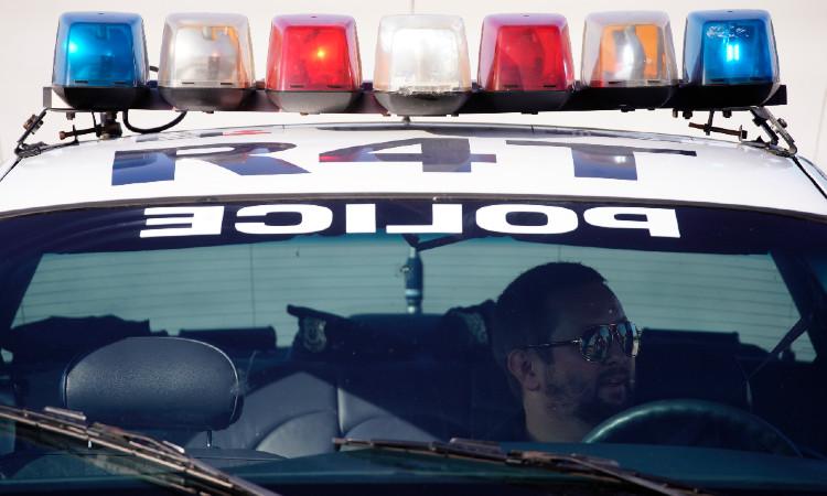 A police patrol runs over a person in Washington