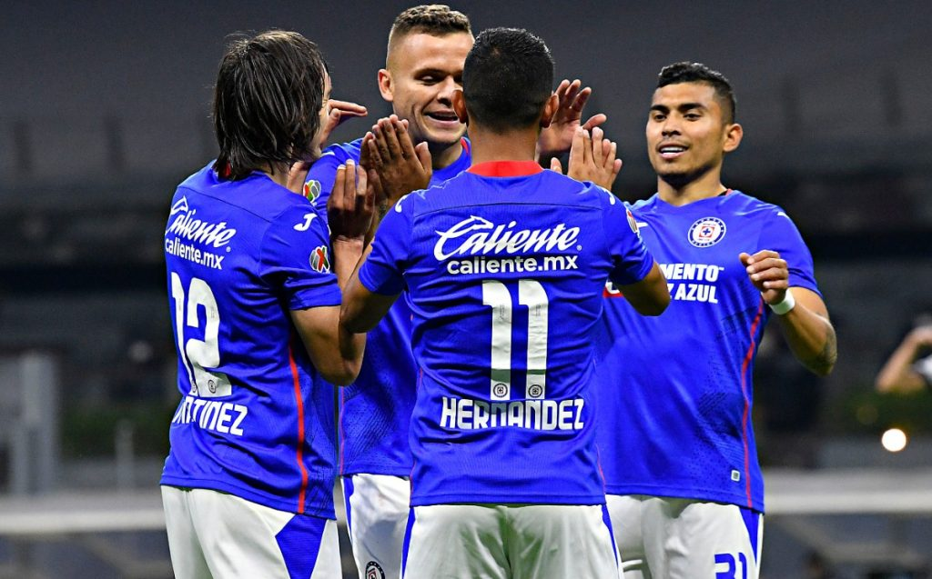 Cruz Azul vs.  Cocks 4-1;  The machine rolled and Cabecita returned with a goal