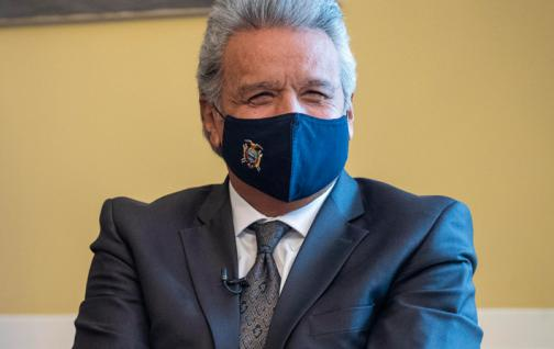 Lenin Moreno will hold academic and international meetings in the United States