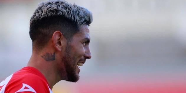 Lucas Passerini and his desire to return to Cruz Azul