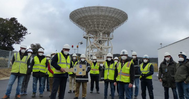 New antenna in Robledo de Chavela to follow next manned missions to the Moon - space news