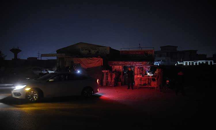 Electricity has been restored in some areas, and service officials are trying to do so in others.  Photo: AFP