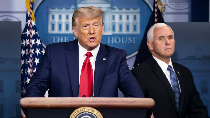 Pence rules out Donald Trump impeachment request
