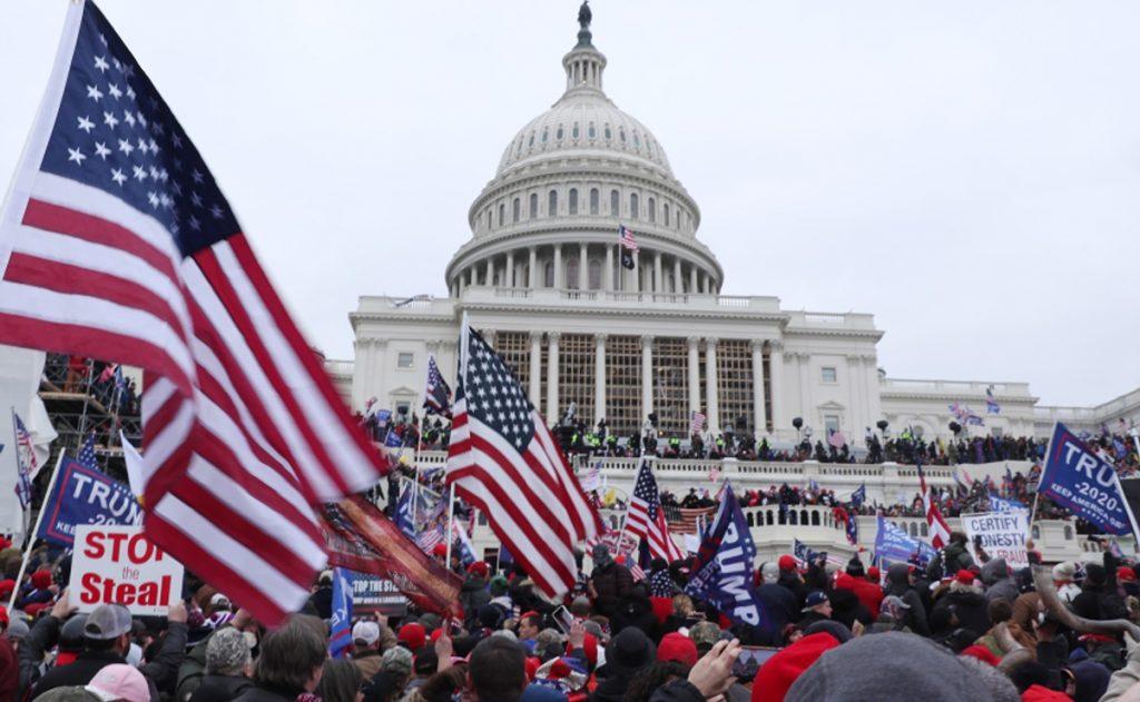 Shameful and shocking scenes in Washington