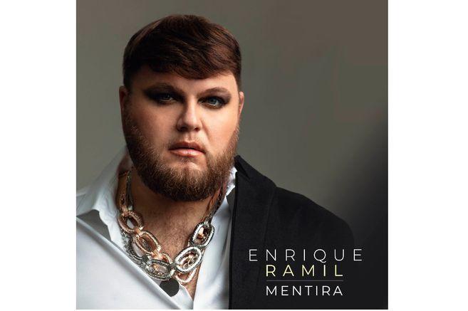 "Spanish Enrique Ramel presents the single ""Mentira"""