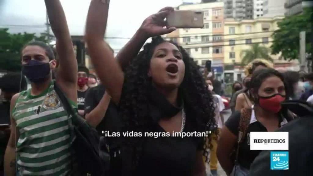 The Black Lives Matter movement is gaining momentum in Brazil