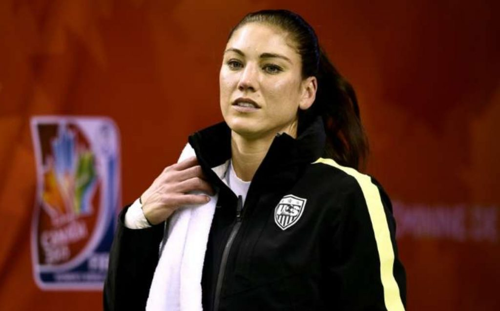 The choice was a club of rich, mean white girls: Hope Solo