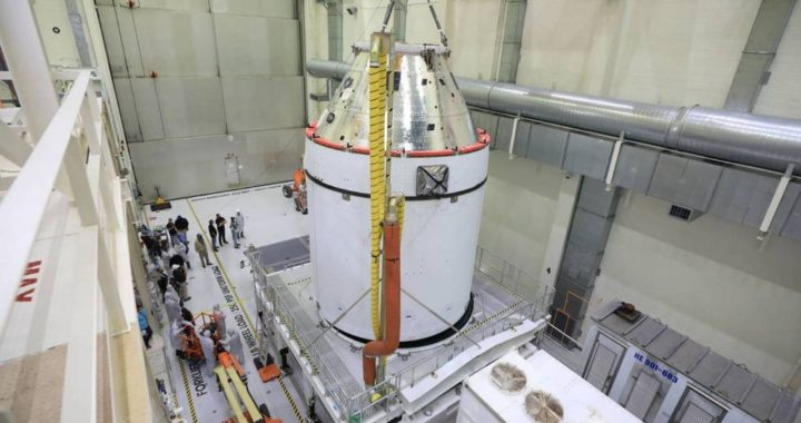 The first Orion spacecraft is ready to fly to the moon