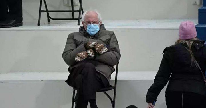 The strange outfit of Senator Bernie Sanders is sweeping social networks