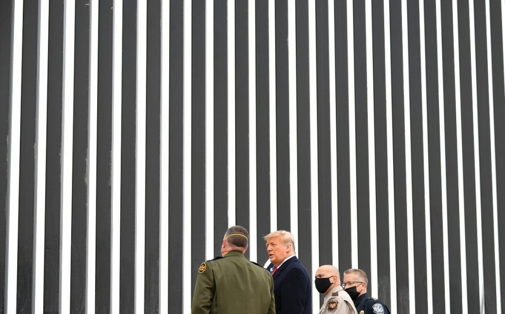We did the wall right and Biden wouldn't be able to tear it down