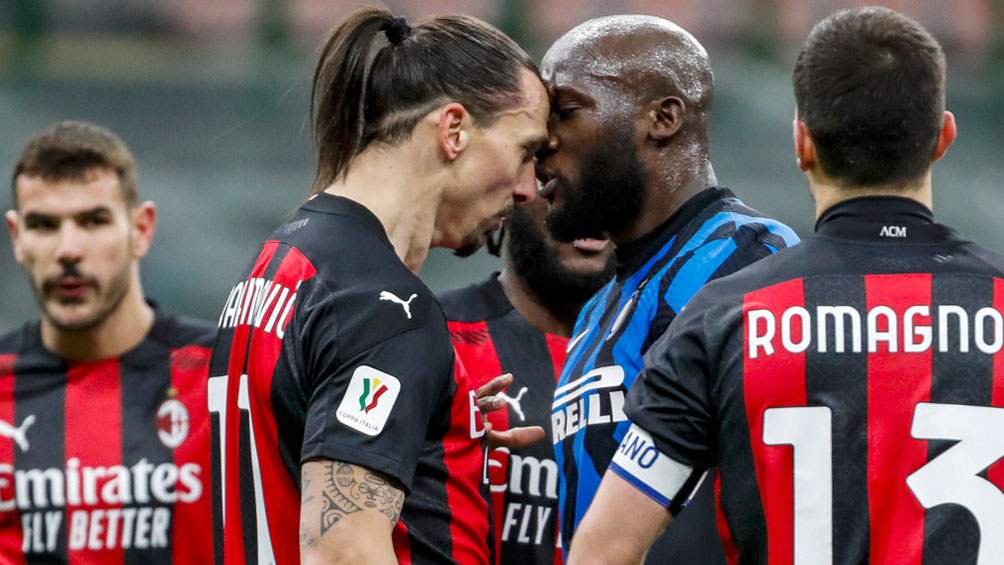 Zlatan Ibrahimovi and Romelu Lukaku stopped one game after a fight in the derby