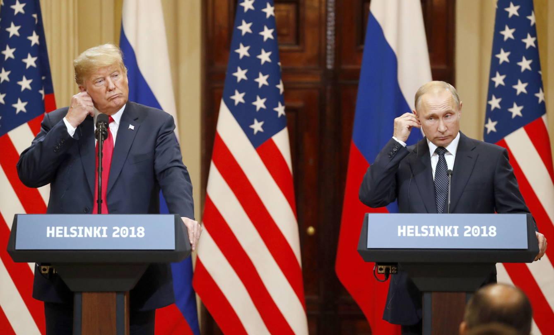 Donald Trump and Vladimir Putin.  (Reuters)