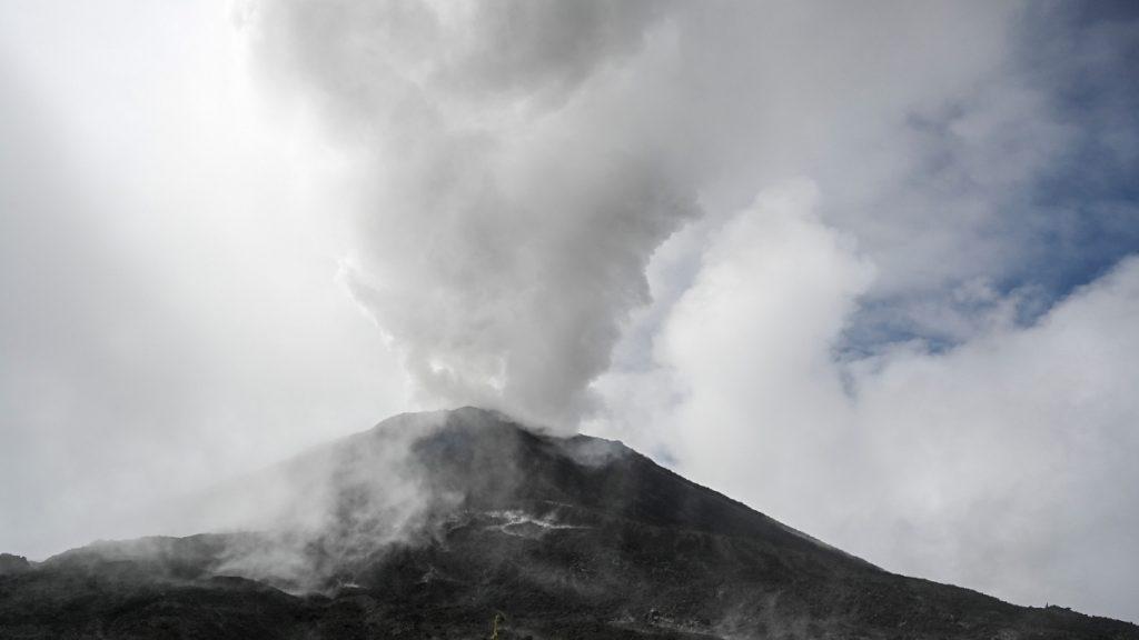 Guatemala: Pacaya volcano increases activity;  Authorities are on alert