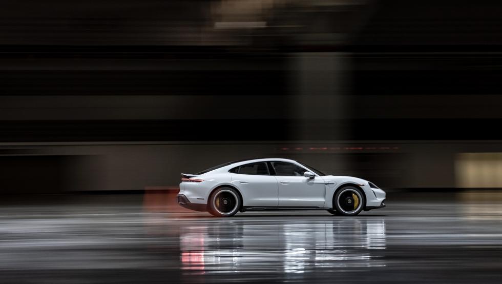 Porsche Taycan sets a Guinness world record