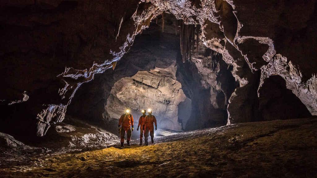 Cave training