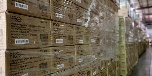The United States Confiscates 11 Million Fake N95 Masks