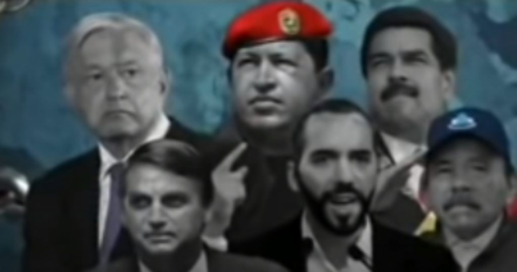 The History Channel denies producing a Tiranos de América documentary that includes AMLO