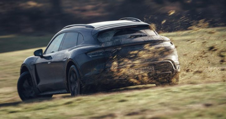The Porsche Taycan Cross Turismo is entering the final testing phase