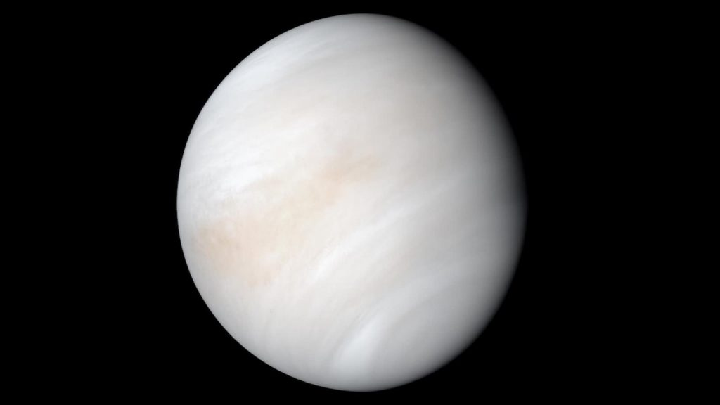 See the latest nocturnal image of Venus released by NASA |  Video