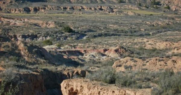 A little bit of monegros on Mars - comarcas