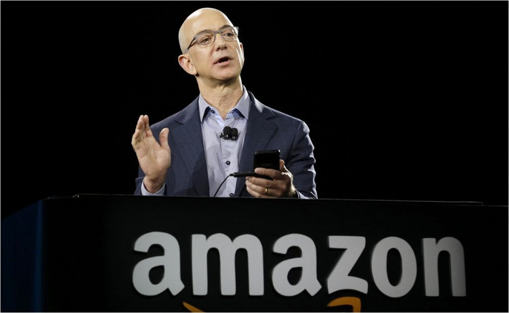 NFL: Jeff Bezos, dueño de Amazon