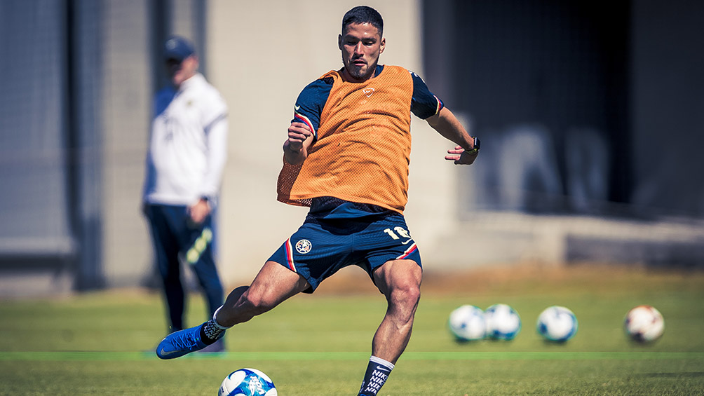Bruno Valdez is already training at Coapa and will appear again in two weeks