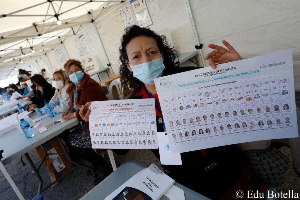 Ecuador: 68,000 Ecuadorians registered with Madrid's consulate begin voting
