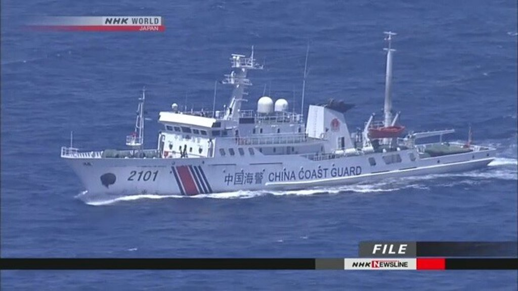 Japan condemns the new entry of Chinese ships into the disputed waters of the Senkaku Islands