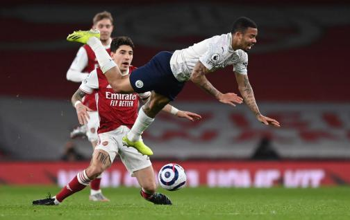 Manchester City beat Arsenal 1-0 and maintains its fine streak at Premier