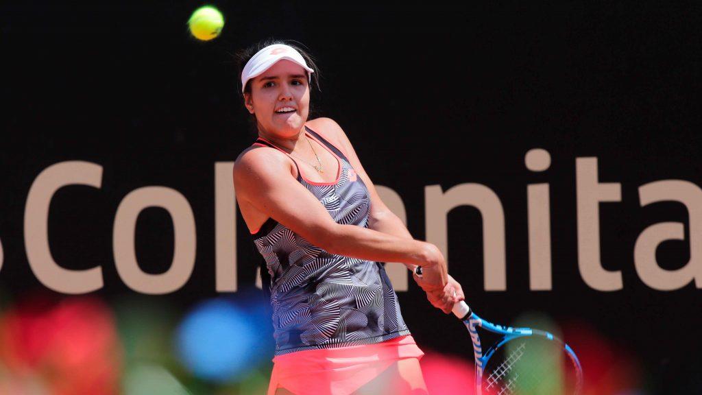 María Camila Osorio, tenista cucuteña. Foto: Archivo/La Opinión