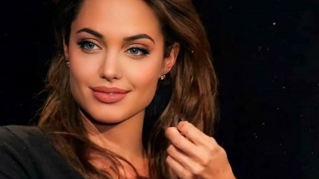 No Makeup Drop: Angelina Jolie sighed and proved she is the most beautiful woman in the world