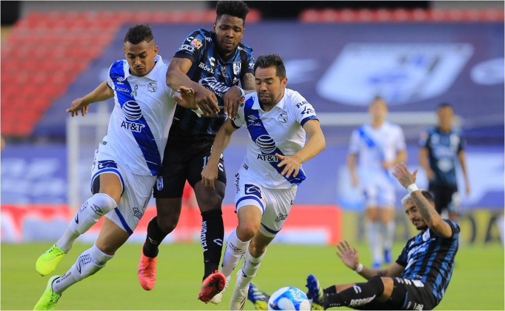 Querétaro deja escapar la victoria ante Puebla