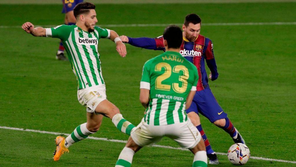 Real Betis vs.  Barcelona - Match Report - February 7, 2021