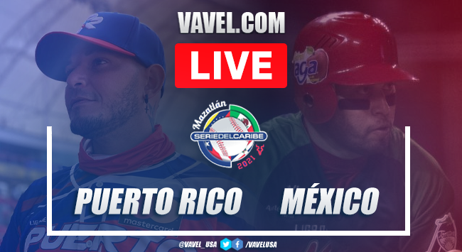 Summary and races: Puerto Rico 6-4 Mexico in the 2021 Caribbean Series