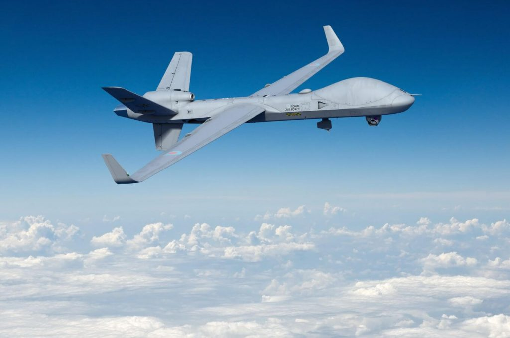 UK orders up to 16 RG Mk 1 protector drones for RAF - Space News