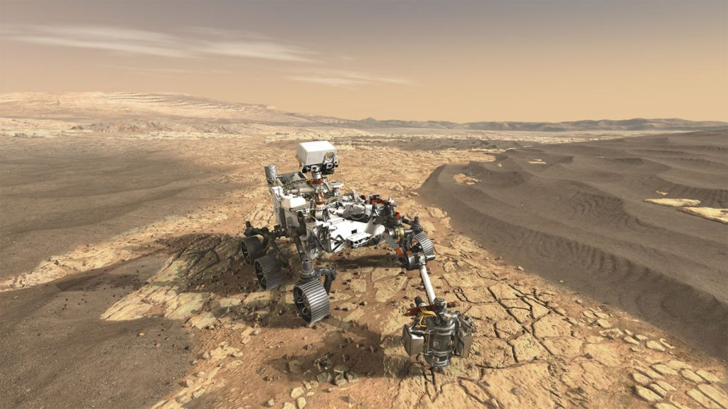 What are the next steps for persevering now on Mars?