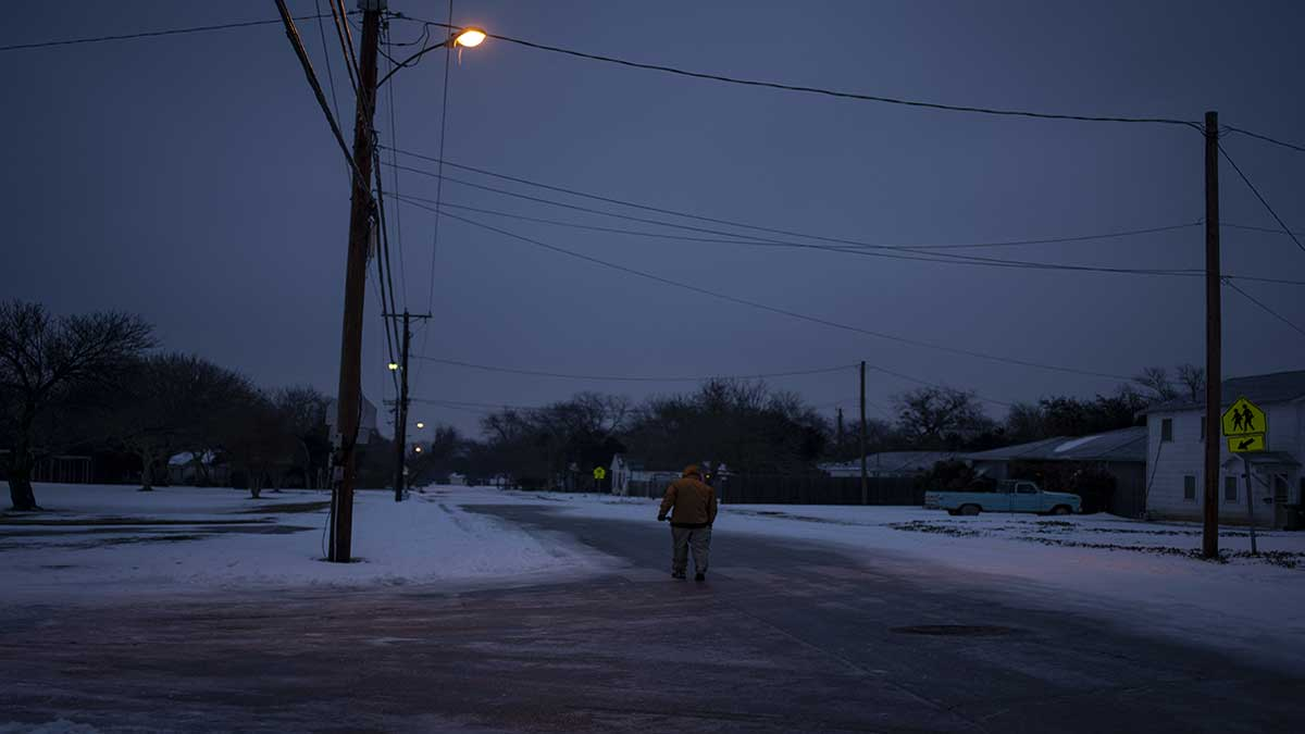 In Texas, the cold wave affected thousands of homes due to power cuts