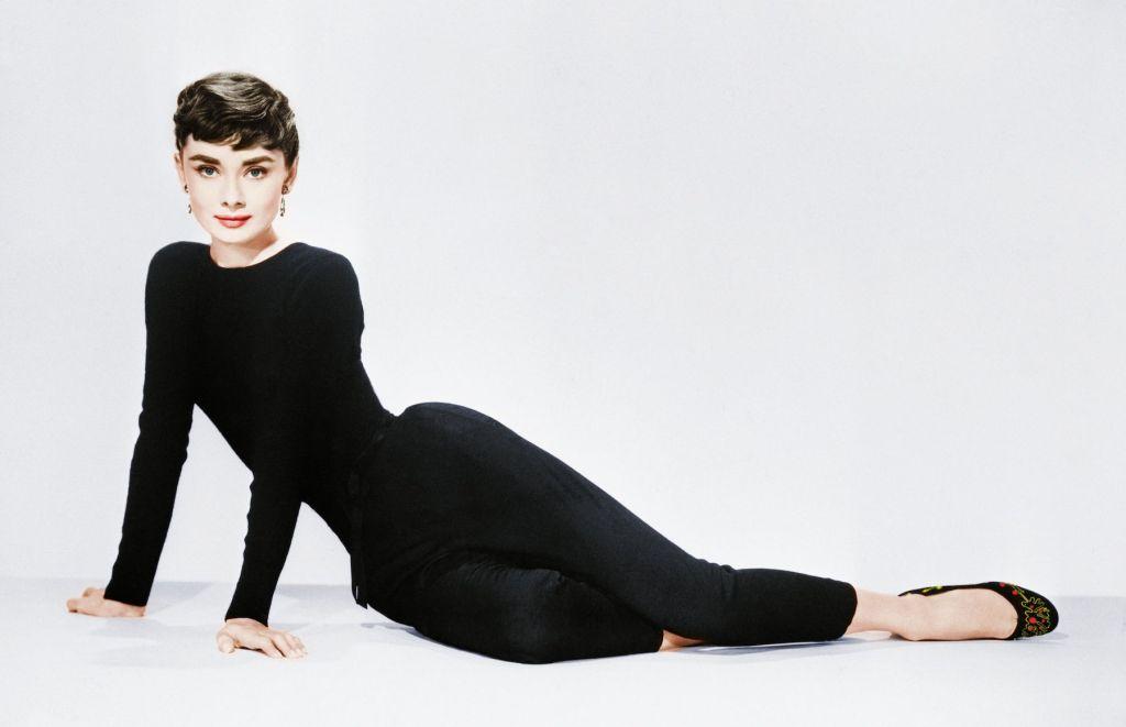 Photos taken of Audrey Hepburn in a documentary