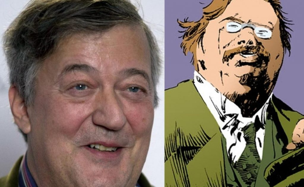 Stephen Fry reveals his role in the Netflix series