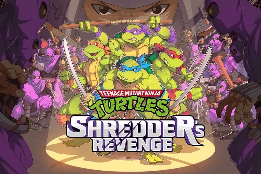 Shredder revenge, new rhythm with a retro twist
