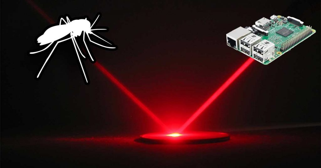 Raspberry Pi that kills mosquitoes with laser firing: A strange project