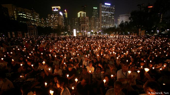 On the 20th anniversary of the brutal campaign launched by the Chinese government in Tiananmen Square.