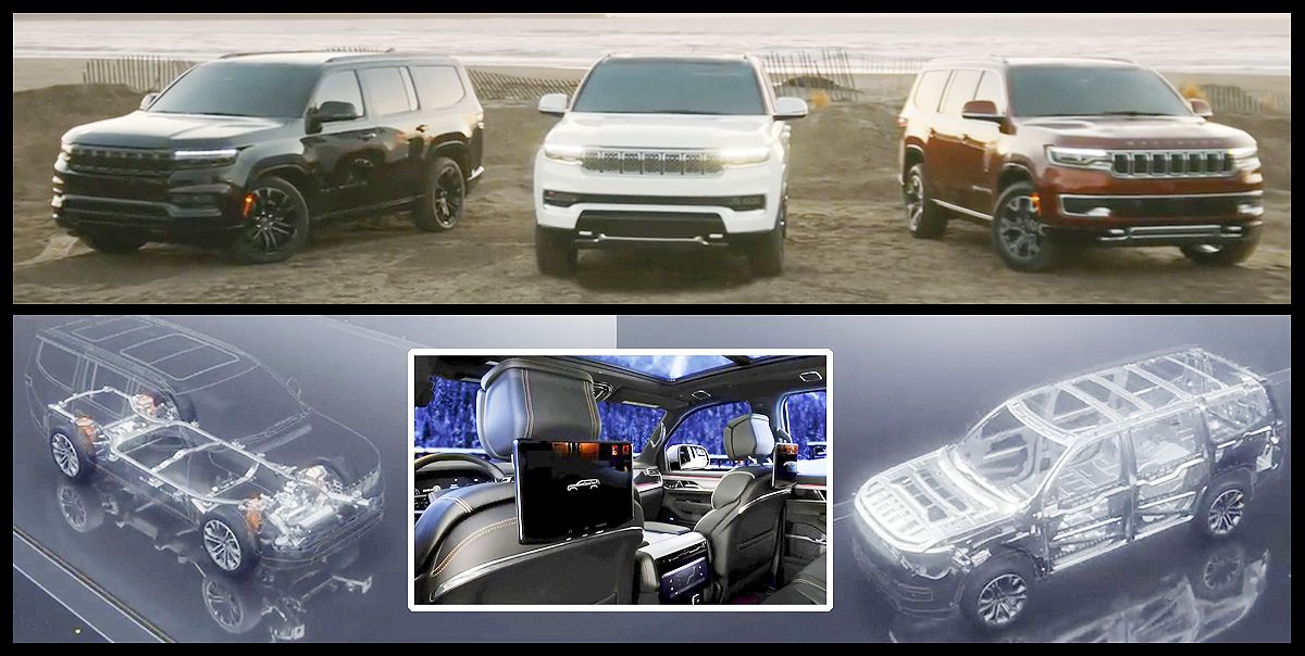 In the summer Jeep Wagoneer and Grand Wagoneer 2022