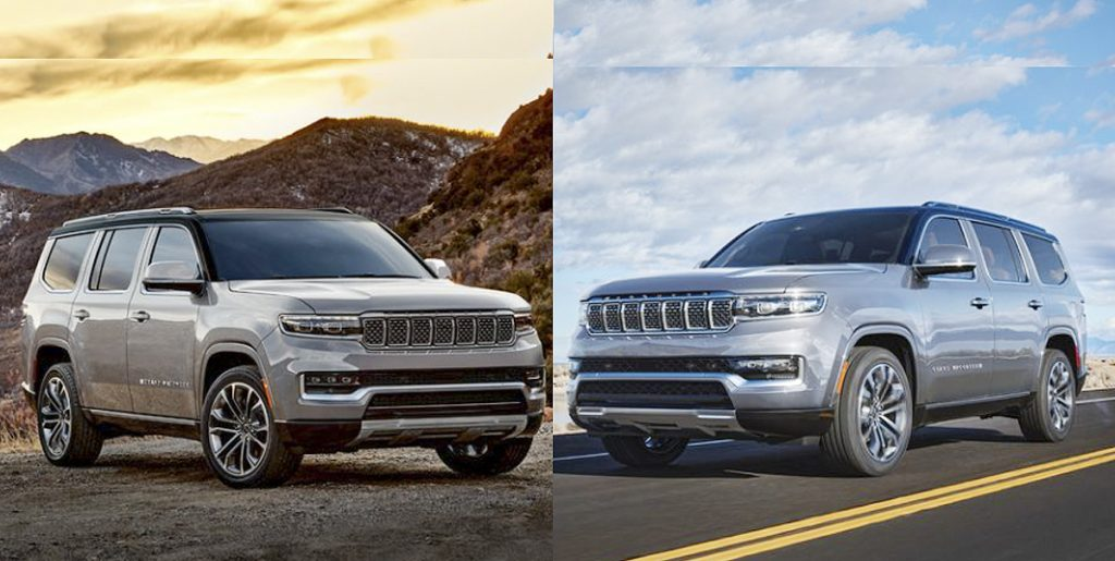 Available in the summer Jeep Wagoneer and Grand Wagoneer 2022