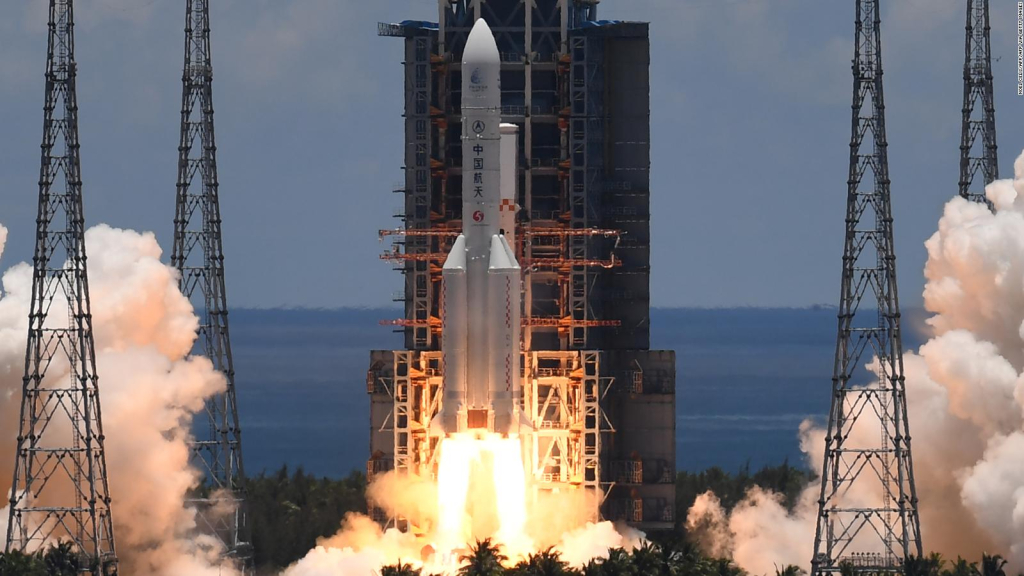China successfully launched the Long March 7-A Y2 missile