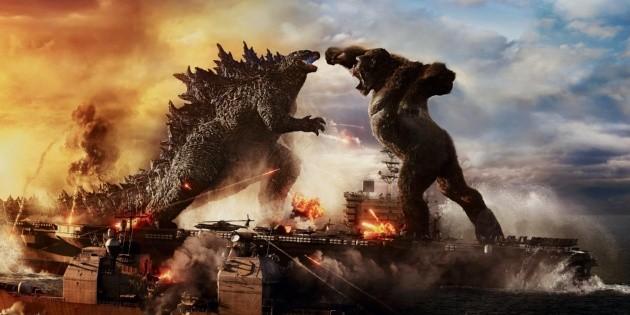 Godzilla vs. Kong, Clash of the Giants