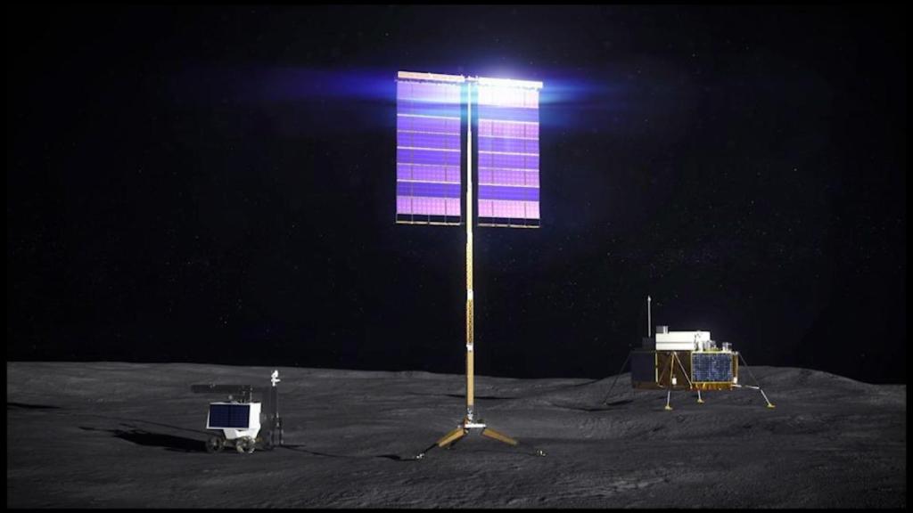 Solar panels on the Moon, NASA's next target